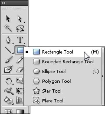 Adobe CS5 Illustrator grundform Tools