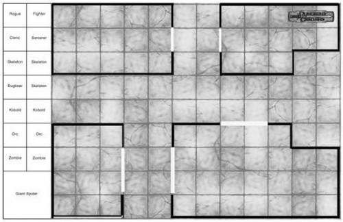 Dungeons & Dragons 4th Edition Battle Grids